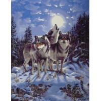 Волки (40х50)
