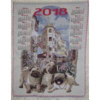 "Календарь 2018 ""Мопс"" (35х48)"