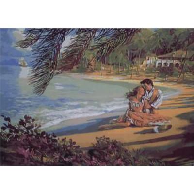 Романтический пейзаж (50х40)