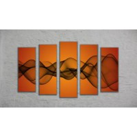 "Модульная картина ""Диаграмма"" (130х70)"
