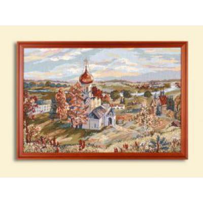 """Гобелен """"Звенигородский монастырь"""" (0,81*0,545)"""