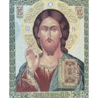 """Икона """"Иисус Христос"""" (37х45)"""