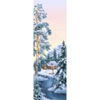 Зимний лес (35х110) о/б