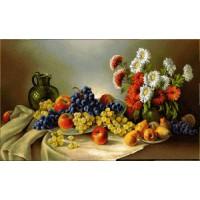 Натюрморт с виноградом (115х70) о/б