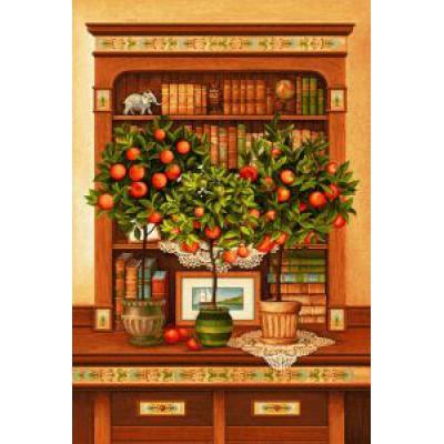 Апельсиновое дерево (112х70) о/б