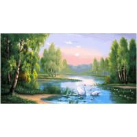 Лебединое озеро (95х50) д/б