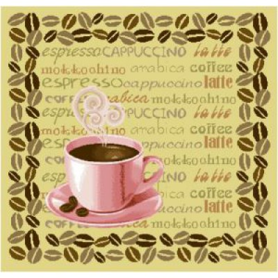 """Салфетка """"Кофе"""" (35х35)"""