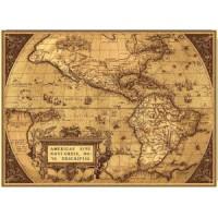 "Панно ""Карта сепия"" (185х135)"