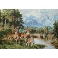 Три оленя (104х70)