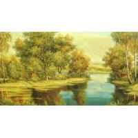 Золотой лес (142х75)