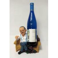 Подставка для вина, Дедушка с бутылкой на дивание