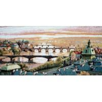 Мосты над Влтавой (34х17)