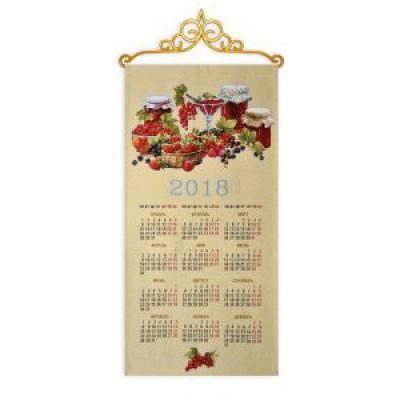 """Календарь 2018 """"Ягоды"""" (33х71)"""