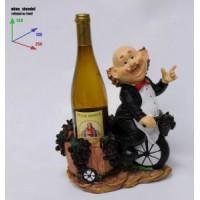 Подставка длябутылки, Винодел на велосипеде