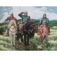 Три богатыря (65х50) о/б