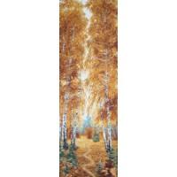 Осенний лес (35х110) о/б