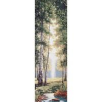 Зеленый лес (35х110) о/б