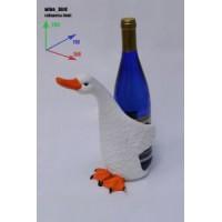 Подставка для бутылки, птица.
