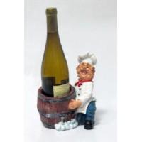 Подставка для бутылки, Повар (держит бутылку перед собой в бочке)