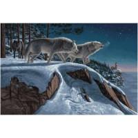Волчья стая (115х70) д/б