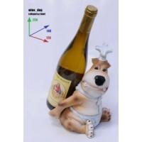 Подставка для бутылки, собака