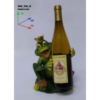 Подставка для бутылки, царевна-лягушка.