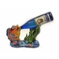 Подставка для бутылки, крутая рыба