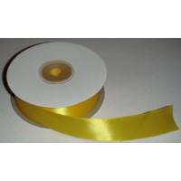Атласная лента желтая (24 мм)