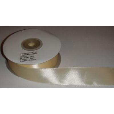Атласная лента бежевая (24 мм)
