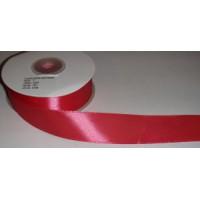 Атласная лента красная (24 мм)