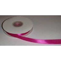 Атласная лента розовая (12 мм)