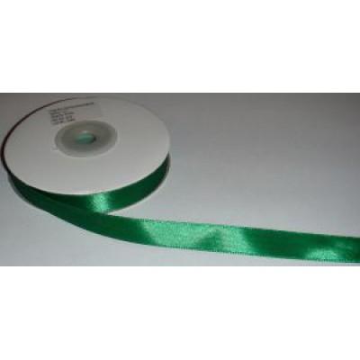 Атласная лента зеленая (12 мм)