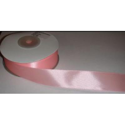 Атласная лента розовая (24 мм)