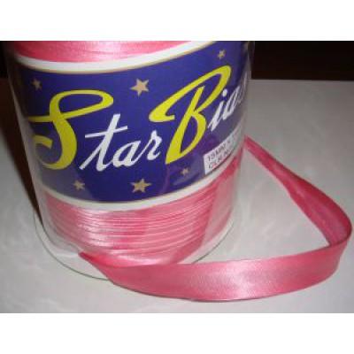 Косая бейка ярко розовая (15 мм)