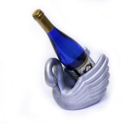 Подставка для бутылки, лебедь.