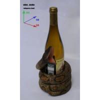 Подставка для бутылки, змея.
