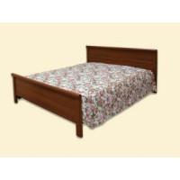 """Покрывало на двуспальную кровать """"Арфа"""" из ткани с шениллом (2,50*2,35) на кровать с одной спинкой"""