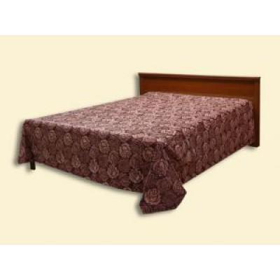 """Покрывало """"Болеро"""" из ткани с шениллом с подшивкой (2,50*2,35) на кровать с одной спинкой"""