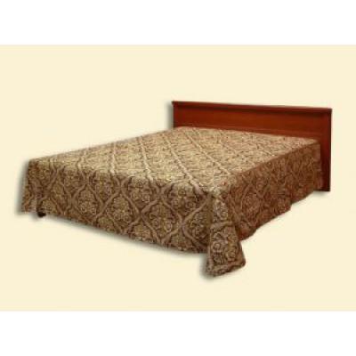 """Покрывало """"Кларнет"""" из гобелена с отделкой (2,50*2,35) на кровать с одной спинкой"""
