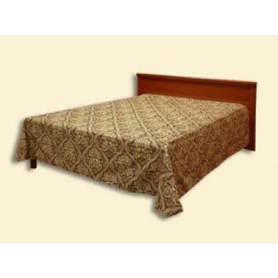 """Покрывало """"Фагот"""" из гобелена с подшивкой (2,50*2,35) на кровать с одной спинкой"""