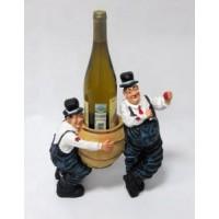 Подставка для бутылки, 2 пьяницы и 1 бутылка