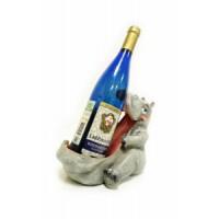 Подставка для бутылки, бегемот