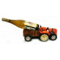 Подставка для бутылки, трактор
