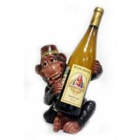Подставка для бутылки, обезьянка